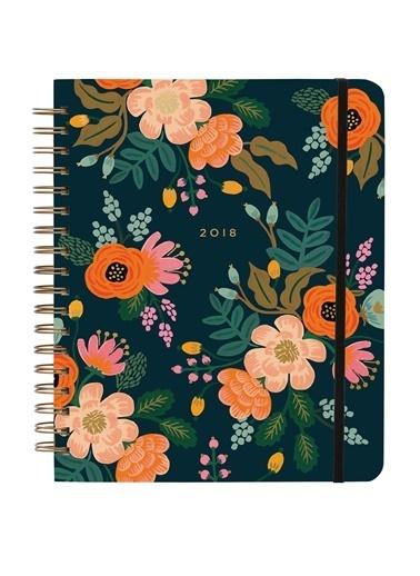 Rifle Paper Co. 2018 Lively Floral Ajanda Renkli